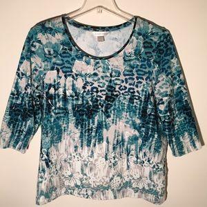 Christopher & Banks Print Shirt